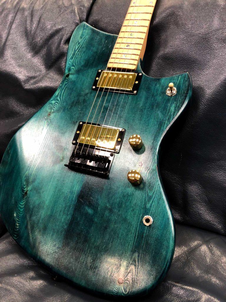 Bespoke Munson custom guitar
