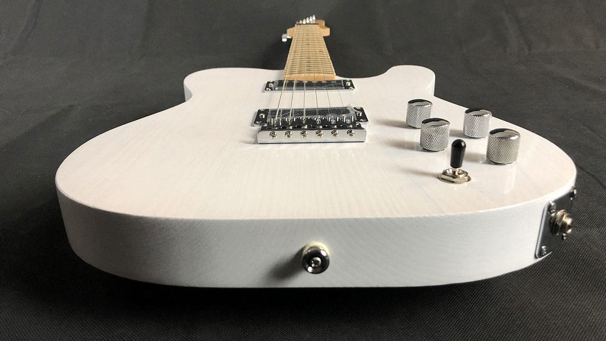 Tempest custom guitar