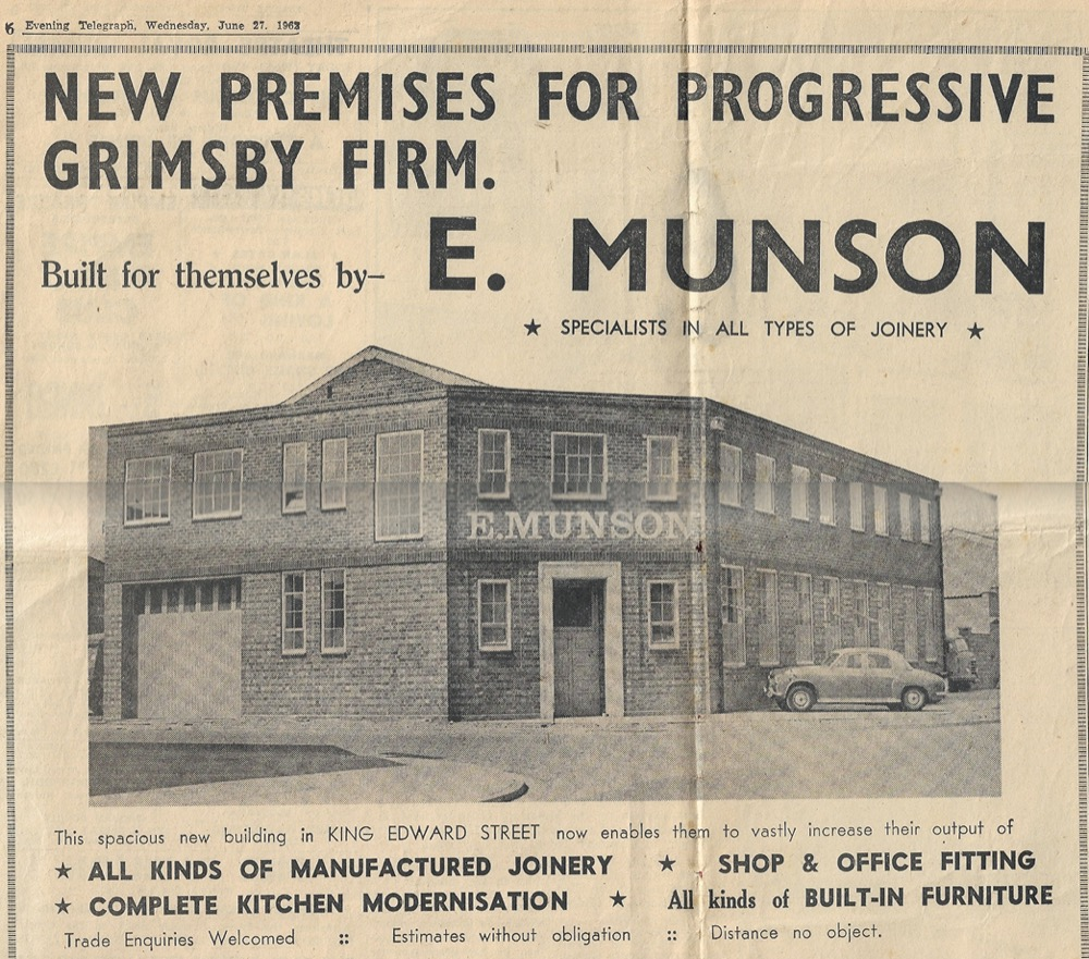 E. Munson factory in 1962