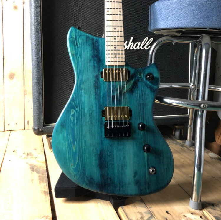 Munson Marauder Custom Shop Guitar
