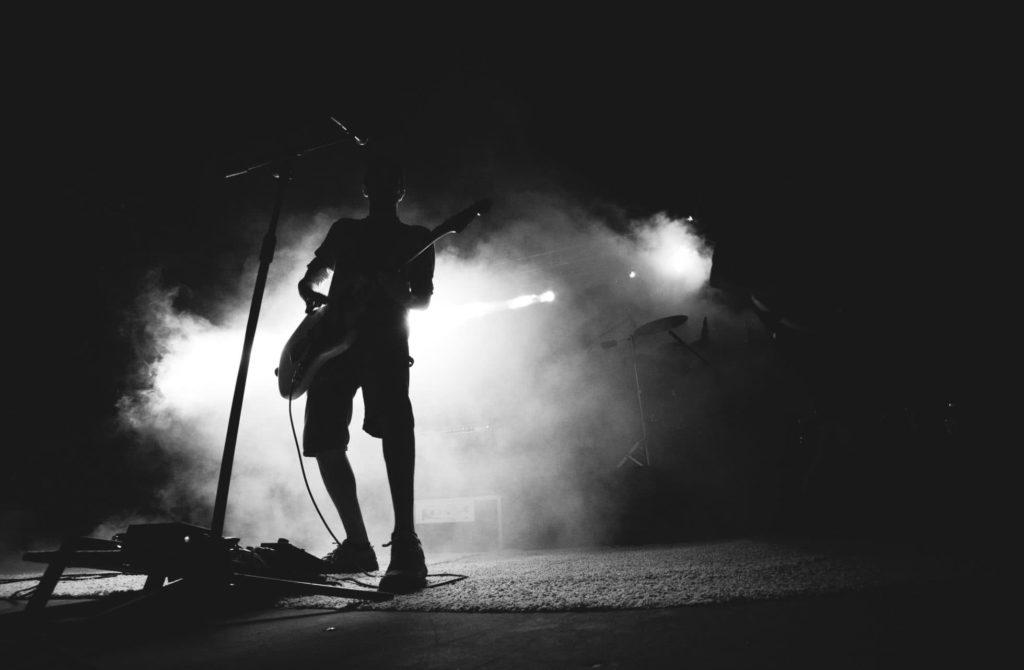 Munson Guitar Live on Stage